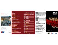 Flyer Programma Danza