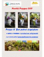 CRALD AUSL Ravenna Novità Pasqua 2017