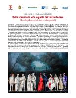 Nota artistica Opera e Danza 2018-2019