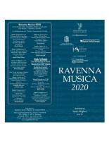 PROGRAMMA RAVENNA MUSICA 2020