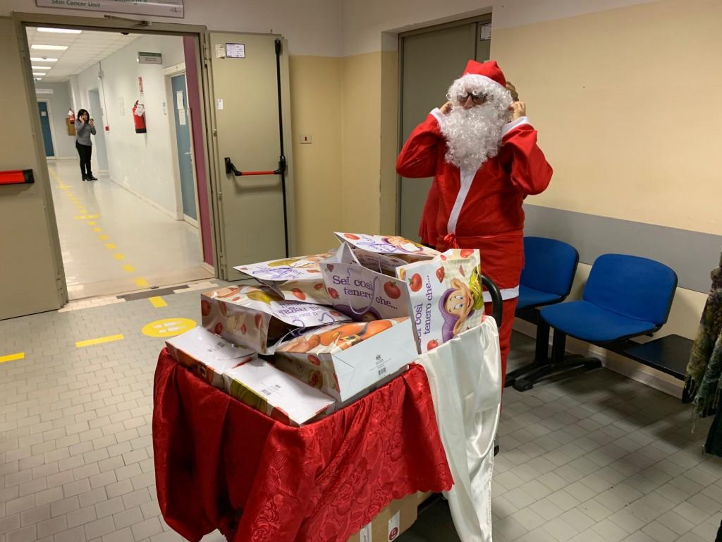 Babbo Natale in Pediatria 2018
